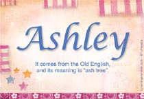 Meaning Of Ashley Name