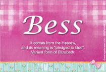Name Bess