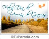 Tarjetas postales: Feliz día de Acción de Gracias