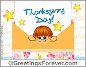 Thanksgiving Day ecard