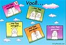 Cartões de Amor - Cartões postais: Voce...