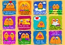 Cartões de Amor - Cartões postais: Por...