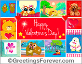 Ecard for Valentines Day