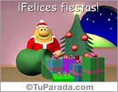 Sorpresa de Felices Fiestas