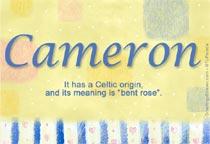 Name Cameron