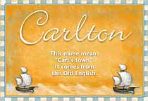Name Carlton