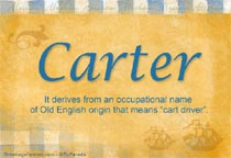 Name Carter
