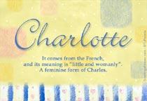 Name Charlotte