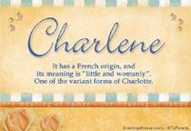 Name Charlene
