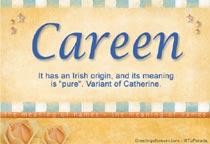 Name Careen