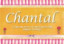 Name Chantal