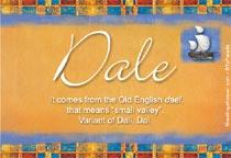 Name Dale