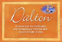 Name Dalton