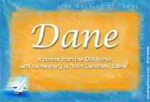 Name Dane