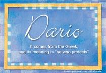 Name Dario