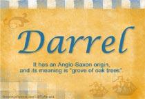 Name Darrel