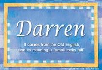 Name Darren