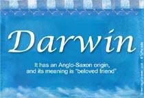 Name Darwin