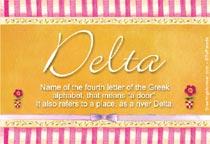 Name Delta