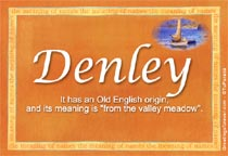 Name Denley