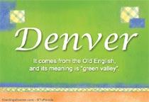 Name Denver