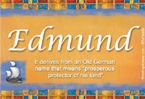 Name Edmund