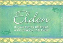 Name Elden