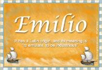 Name Emilio