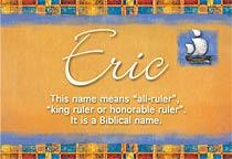 Name Eric