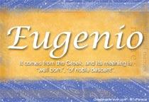Name Eugenio