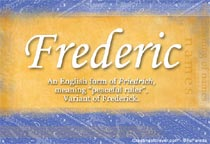 Name Frederic