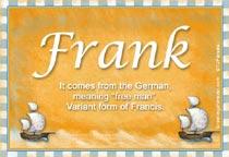 Name Frank
