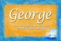 Name George