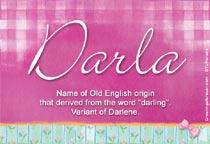 Name Darla