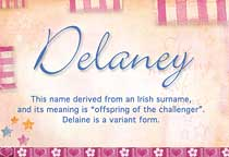 Name Delaney