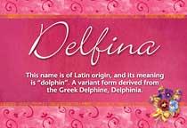 Name Delfina