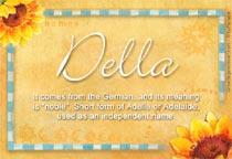 Name Della