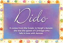 Name Dido