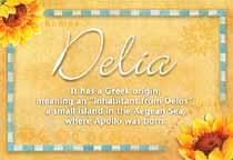 Name Delia