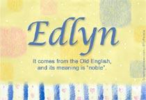 Name Edlyn