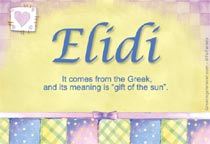 Name Elidi
