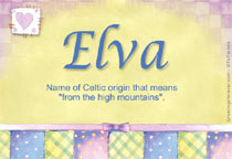 Name Elva