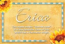 Name Erica