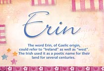 Name Erin
