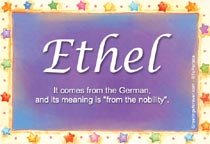 Name Ethel
