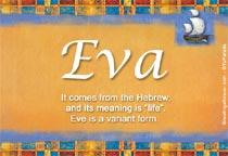 Name Eva