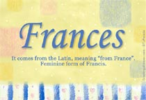 Name Frances
