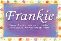 Name Frankie