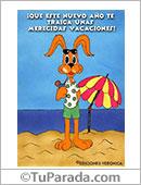 Tarjetas postales: Unas merecidas vacaciones.