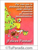 Humor de fin de año - Tarjetas postales: Están siempre presentes